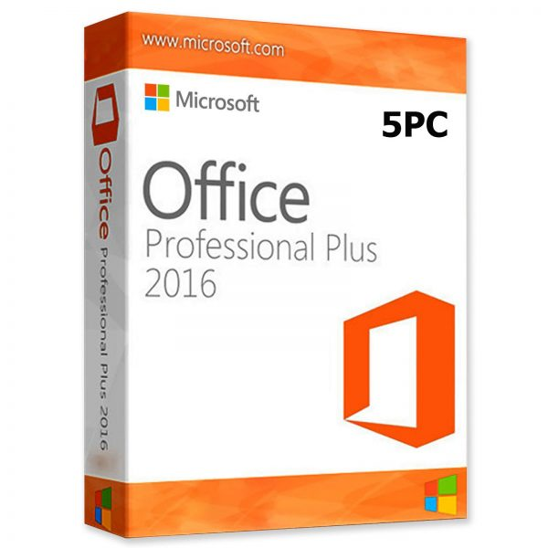 Buy Microsoft Office 2016 Professional Plus at Best Price | 5PC-license